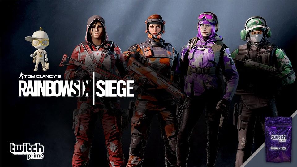 Rainbow Six แจก Skin พิเศษสำหรับสมาชิก Twitch Prime - เกม PC
